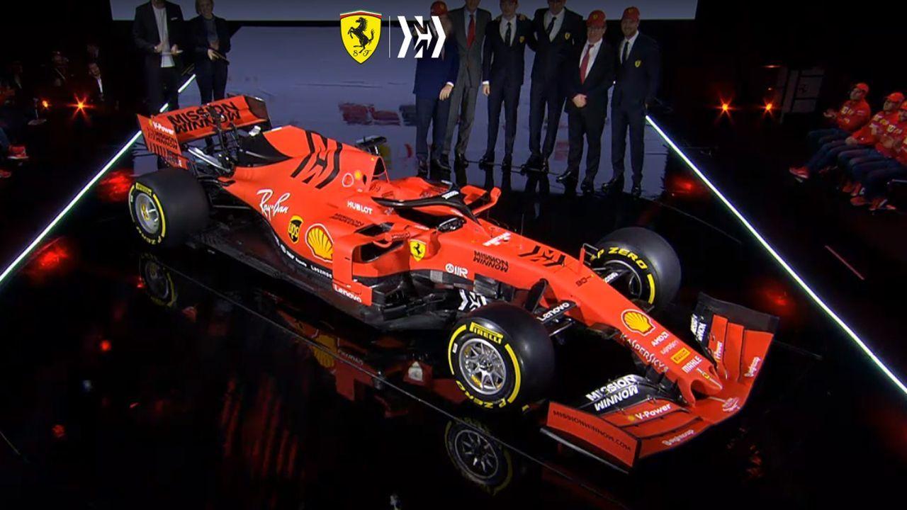 Formel-1-Autos 2019: Ferrari SF90 - Bildquelle: Scuderia Ferrari