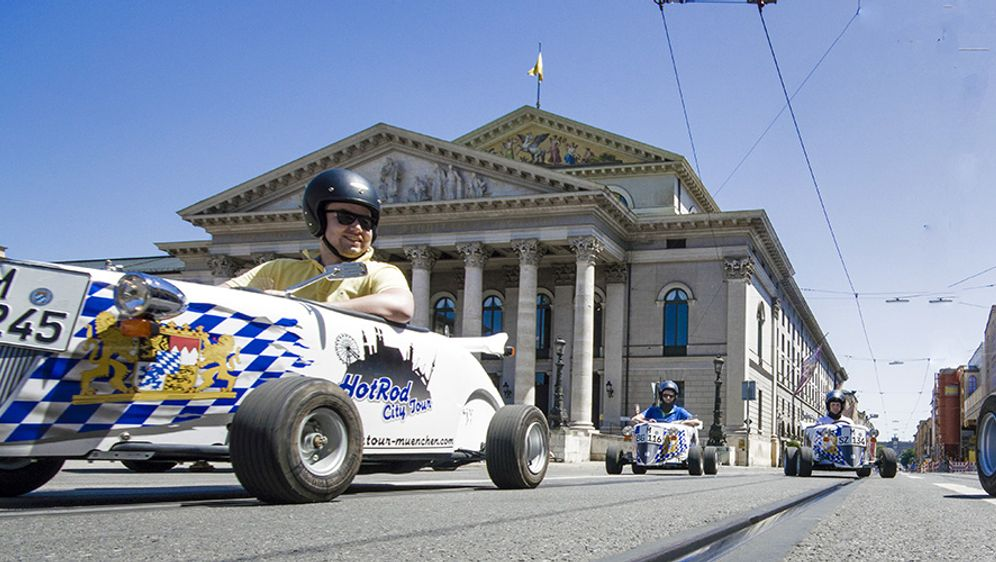 Mini Hot Rods - Sightseeing mal anders!