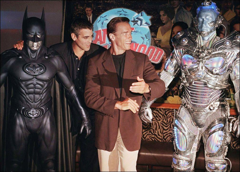 Batman-Robin-Arnold-Schwarzenegger-Kostuem-Mr-Freeze-George-Clooney-Kostuem-Batman-2-AFP - Bildquelle: AFP