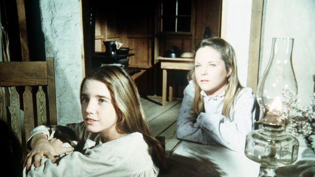 Laura (Melissa Gilbert, l.) und ihre Schwester Mary (Melissa Sue Anderson, r....