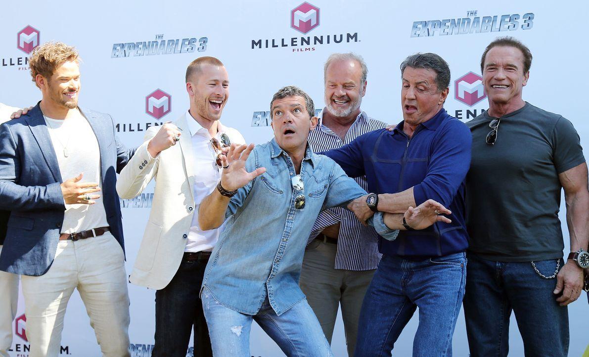 Cannes-Filmfestival-Expendables3-140518-3-AFP - Bildquelle: AFP