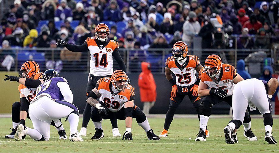 Platz 22: Cincinnati Bengals - Bildquelle: 2017 Getty Images