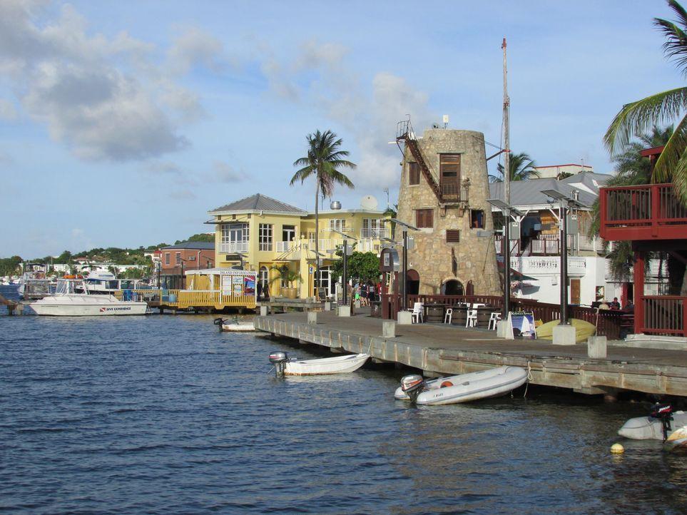 Da Dave und Julie Sommer gerne Jetski fahren, machen sie sich auf der Suche nach einem Traumhaus in der Karibik - am besten direkt am Wasser ... - Bildquelle: 2013, HGTV/Scripps Networks, LLC. All Rights Reserved.