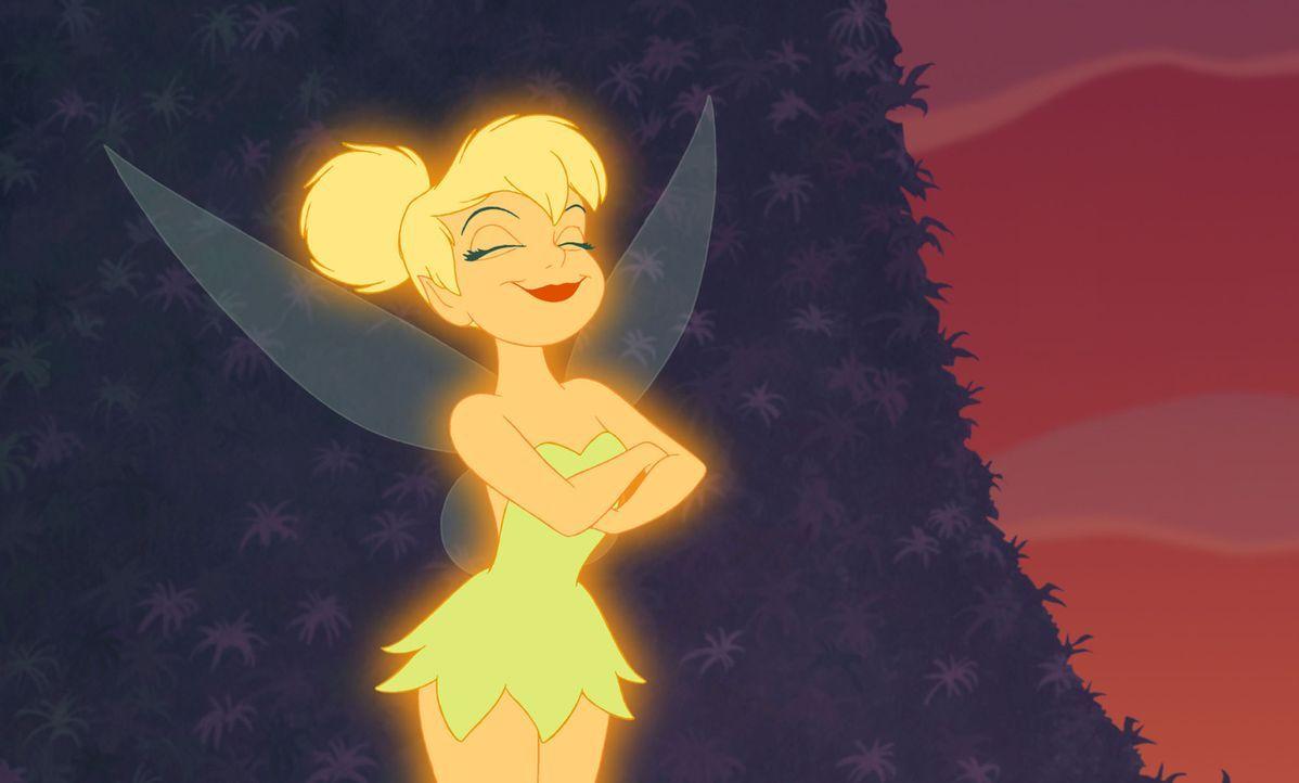 Die Fee Naseweis verfügt über die einmalige Gabe, mittels Feenstaubes Peter Pan und die Verwunschenen Jungs fliegen lassen zu können. Da geht ihr... - Bildquelle: Disney