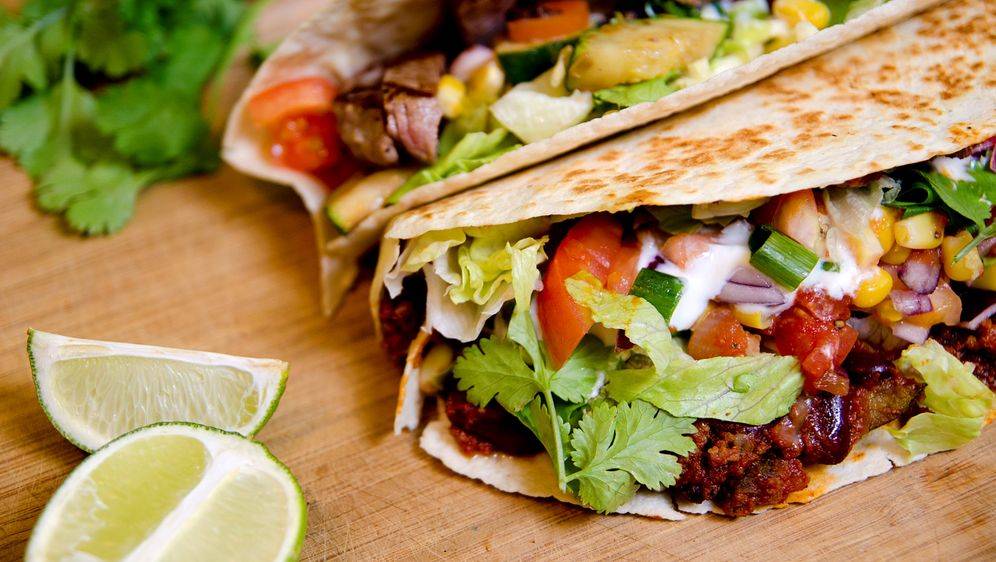 Tacos con Carne