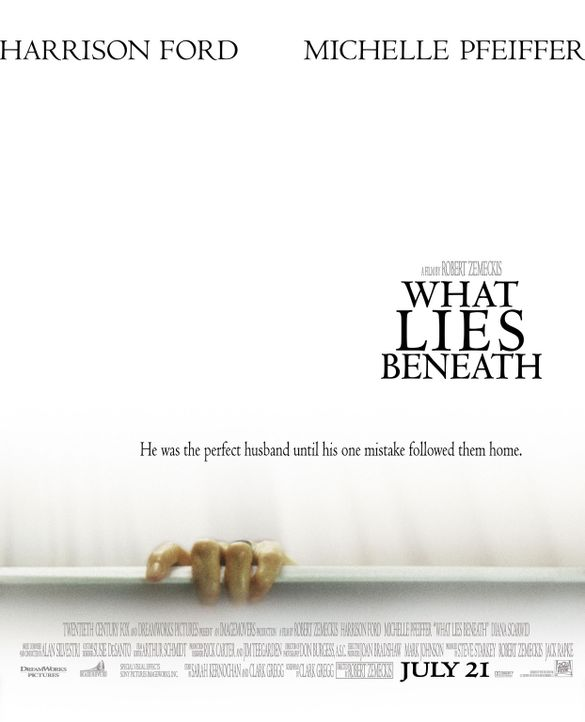 What Lies Beneath - Plakatmotiv - Bildquelle: 20th Century Fox