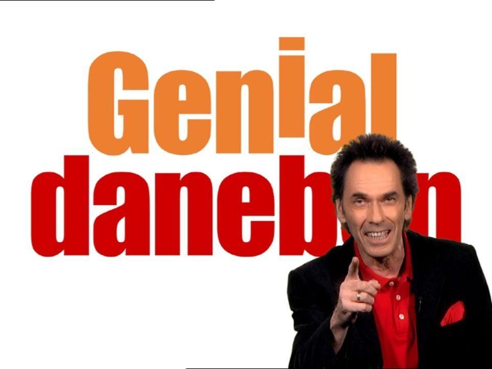 """Da liegen die Comedians schon mal ganz schön """"Genial Daneben""""... - Bildquelle: Sat.1"""