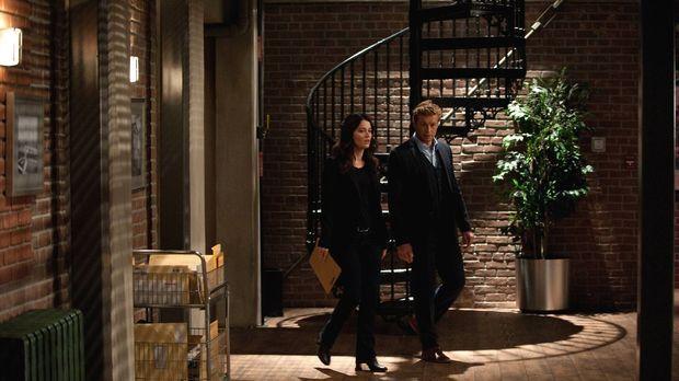 Ein neuer Fall wartet auf Patrick (Simon Baker, r.) und Teresa (Robin Tunney,...