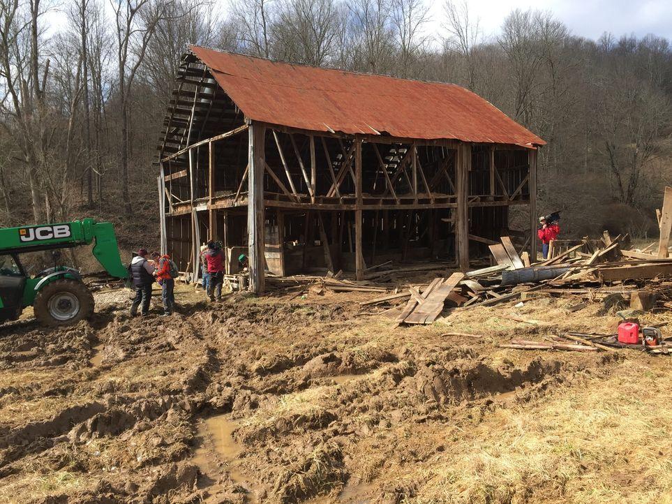 Die Scheunen-Profis haben sich auf die Restauration der ältesten Scheunen Amerikas spezialisiert und Missouri ist mit mehr als 35.000 historischen S... - Bildquelle: 2015, DIY Network/Scripps Networks, LLC. All Rights Reserved.