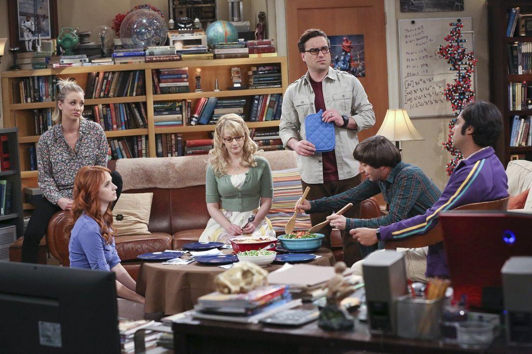 Beschließen ohne Sheldon nach Las Vegas zu fahren, um mal etwas Dampf abzulassen, weil er sich in letzter Zeit sehr garstig zu ihnen verhalten hat:... - Bildquelle: 2015 Warner Brothers