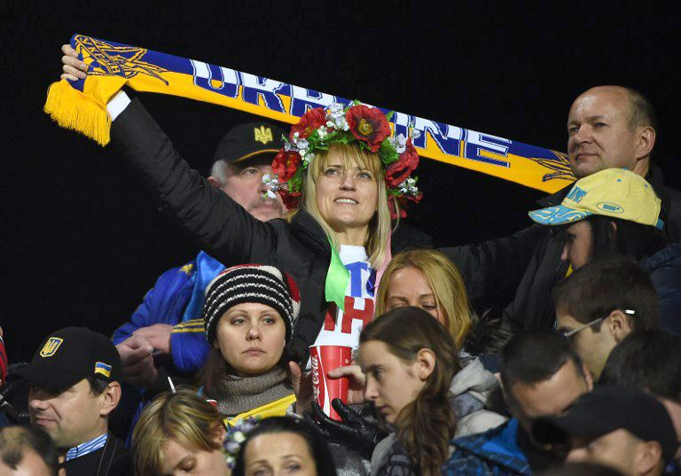Ukraine_Fans-03-160429-AFP - Bildquelle: AFP