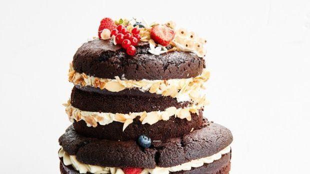 """Naked Cake – My-Hiens """"Kleine Waldhochzeit"""""""