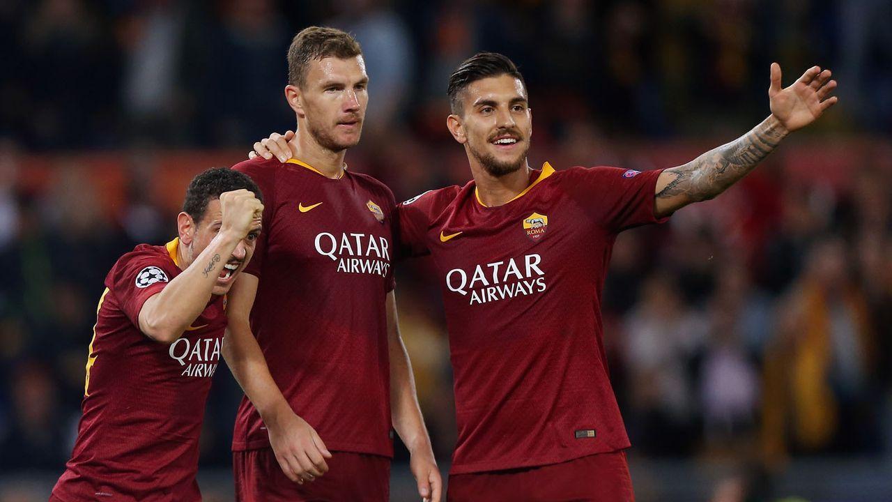 Platz 15: AS Roma - Bildquelle: 2018 Getty Images