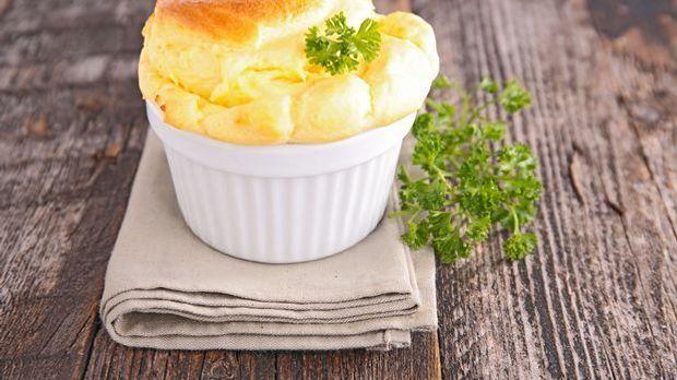 Käse-Soufflé-Rezept