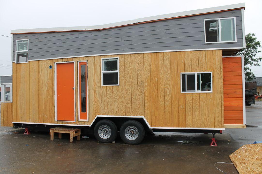 Der Industriedesigner Rob baut ein 27-Quadratmeter-Haus, das mit cleveren Spielereien und ökologischen Merkmalen ausgestattet ist. - Bildquelle: 2015, HGTV/Scripps Networks, LLC. All Rights Reserved