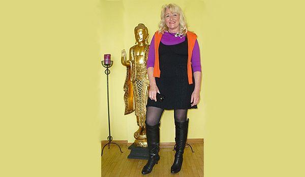 Angela mag es orientalisch - Bildquelle: kabel eins