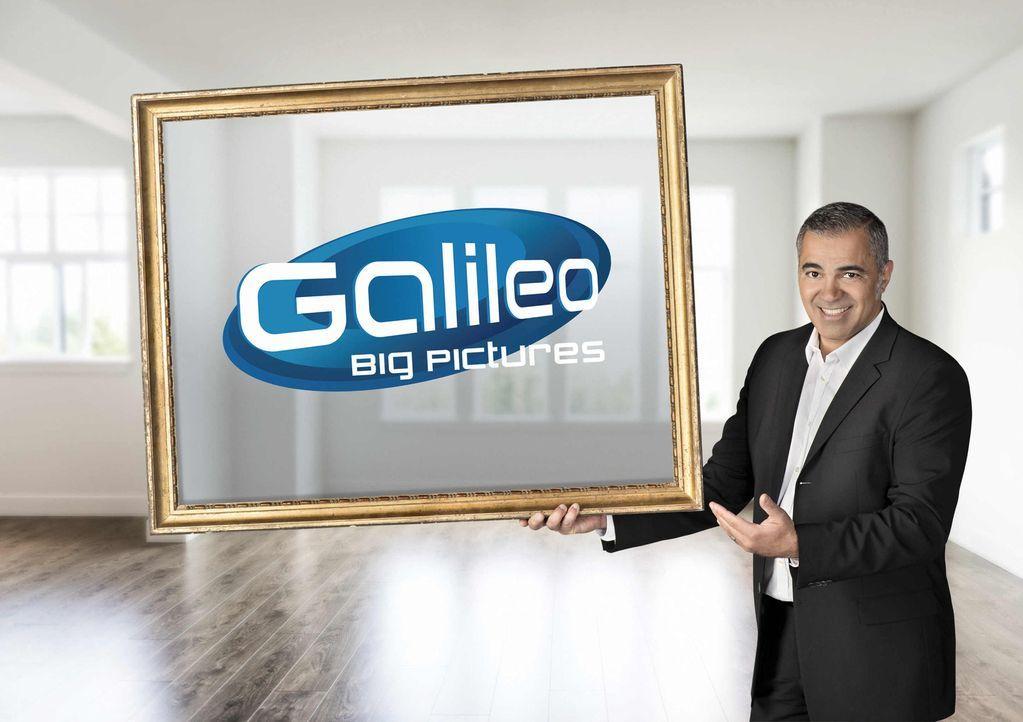 """""""Galileo Big Pictures"""" wird von Aiman Abdallah präsentiert. - Bildquelle: Walter Wehner ProSieben"""