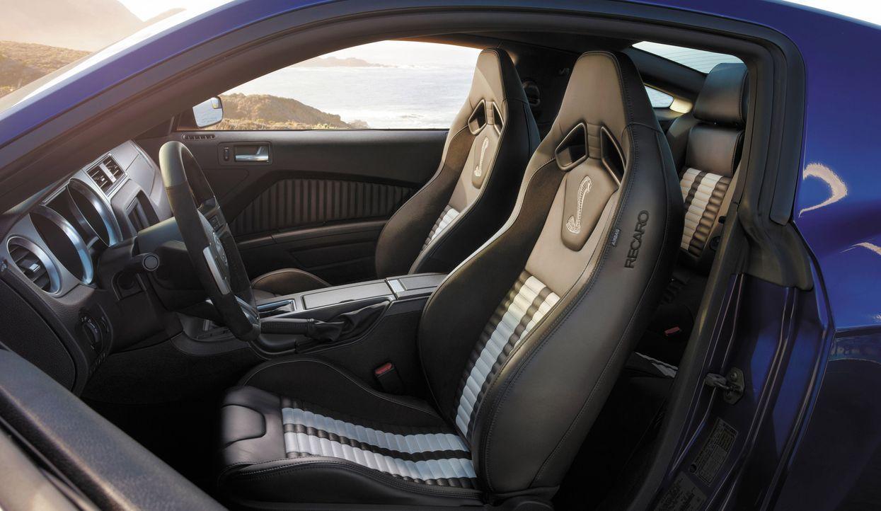 2014er Mustang Shelby GT500 (15) - Bildquelle: © 2013 Ford Motor Company