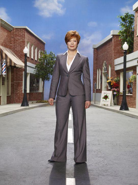 """(3. Staffel) - Neu in Eureka: Eva Thorne (Frances Fisher), die alle nur """"The Fixer"""" nennen ... - Bildquelle: Universal Television"""