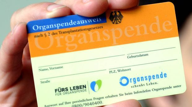 Organspenderzahlen sinken auf niedrigsten Stand seit 20 Jahren