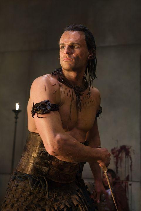 """""""Der Ägypter"""" (Steven Dunlevy) ist ein allseits gefürchteter Mörder, der nun im Auftrag von Praetor Glaber Spartacus das Handwerk legen soll ... - Bildquelle: 2011 Starz Entertainment, LLC. All rights reserved."""