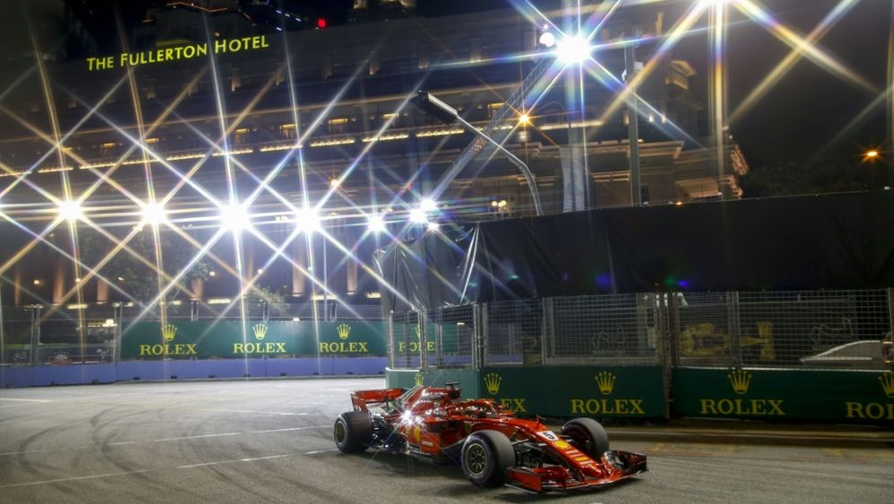 Sebastian Vettel war im dritten Training der Schnellste - Bildquelle: pixathlonpixathlonSID