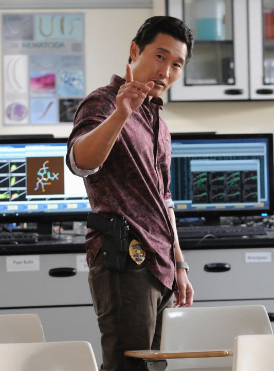 Ermittelt in einem neuen Fall: Chin (Daniel Dae Kim) ... - Bildquelle: 2012 CBS Broadcasting, Inc. All Rights Reserved.