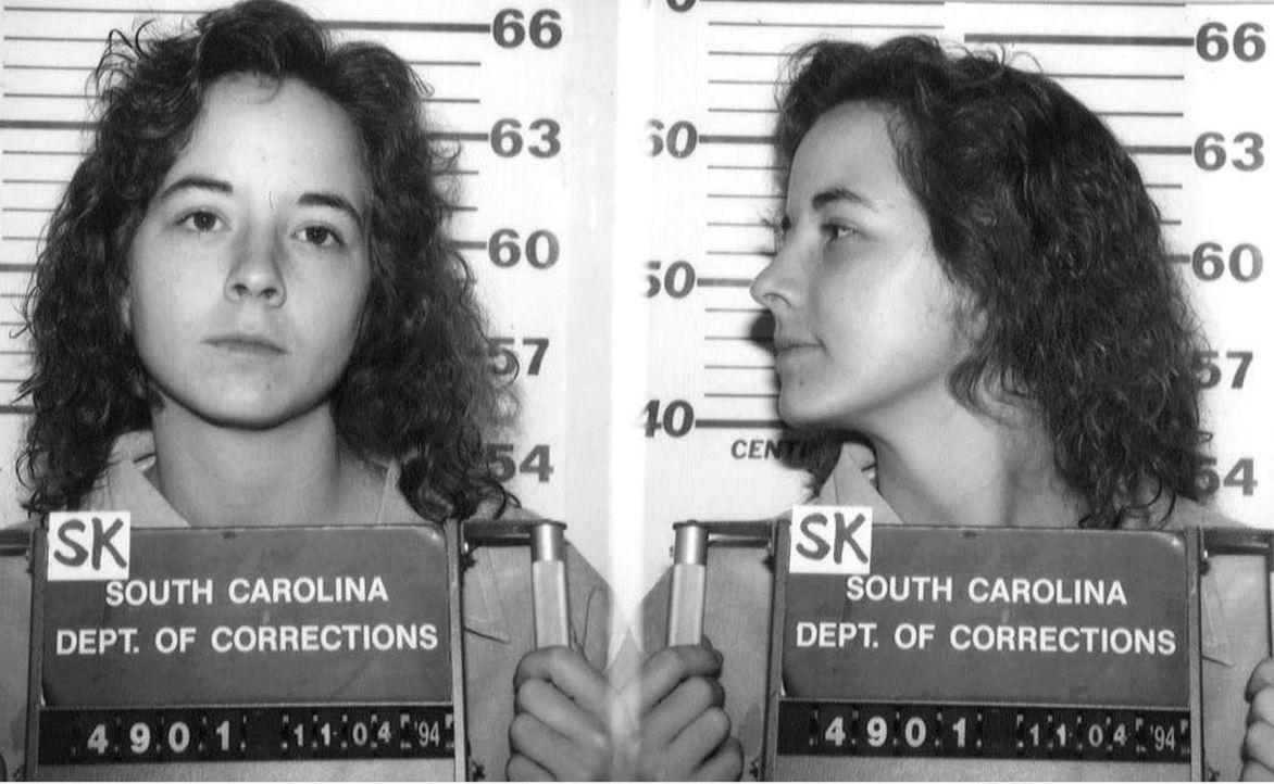 Juli 1994: Die Amerikanerin Susan Smith wird wegen des Mordes an ihren beiden Söhnen von einem Geschworenengericht in Union City, South Carolina, zu... - Bildquelle: Brooks Kraft/Sygma/Corbis