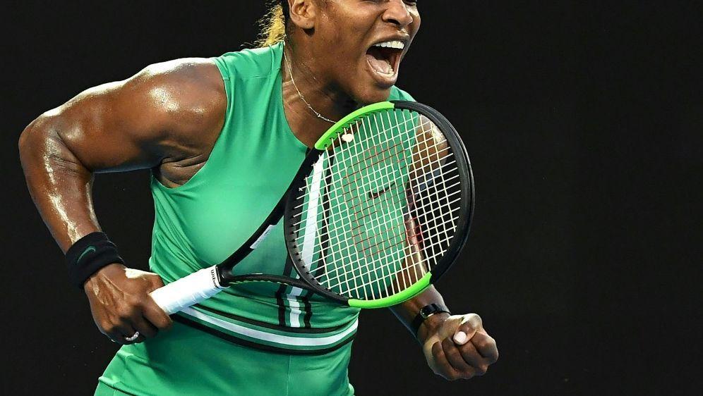 Steht im Viertelfinale von Melbourne: Serena Williams - Bildquelle: AFPSID