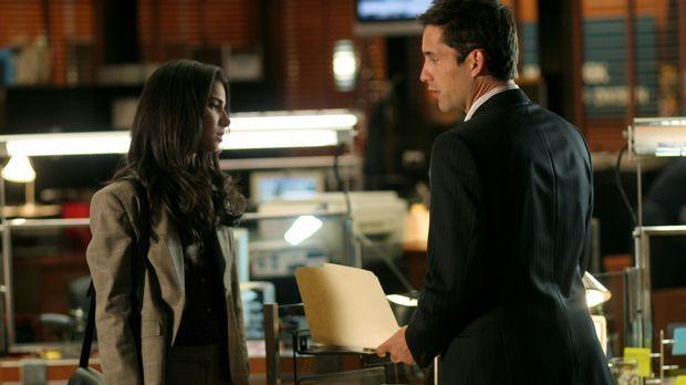 Noch immer haben Danny (Enrique Murciano, r.) und Elena (Roselyn Sanchez, l.)...