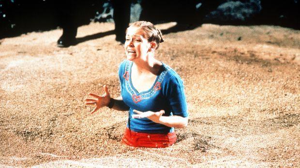 Sabrina (Melissa Joan Hart) versinkt im Treibsand ... © Paramount Pictures