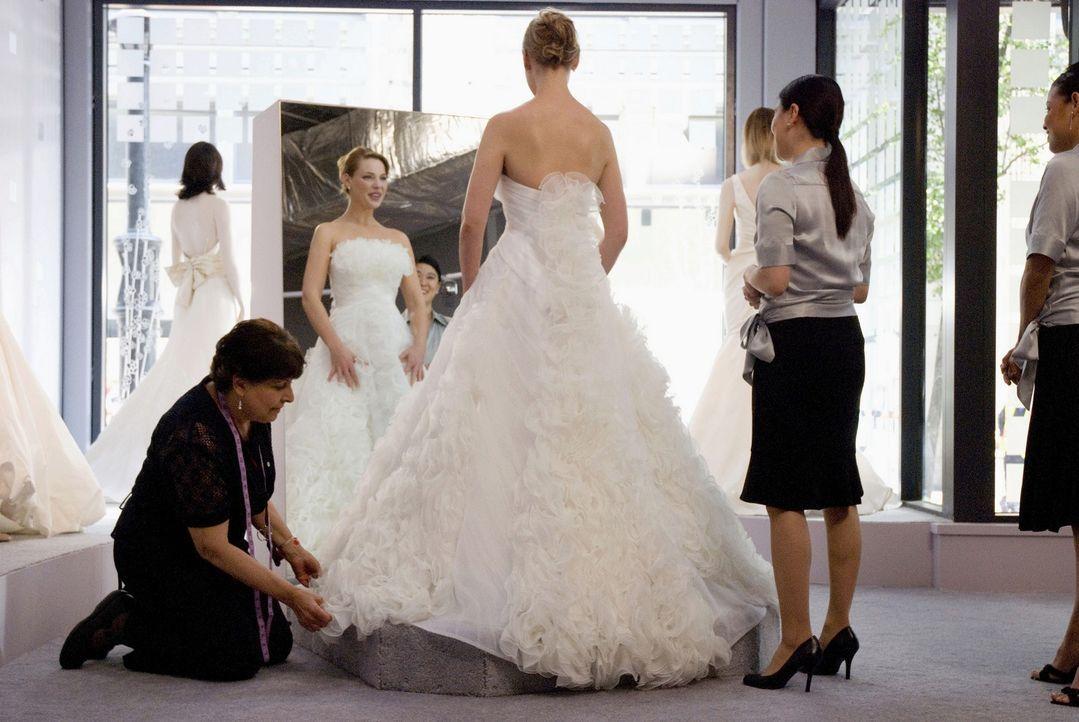Und aus der ewigen Brautjungfer wird die wunderschöne Braut Jane (Katherine Heigl, M.) - oder etwa doch nicht? - Bildquelle: Twentieth Century Fox Film Corporation