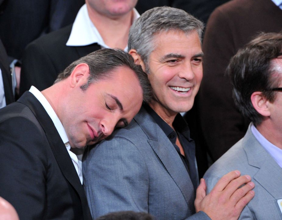 jean-dujardin-george-clooney-12-02-06-getty-afpjpg 2000 x 1561 - Bildquelle: getty-AFP