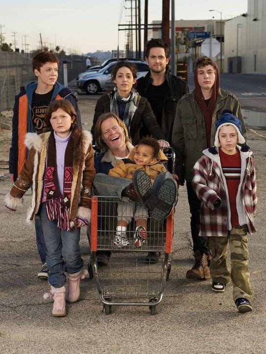 (1. Staffel) - Die Gallaghers sind eine fast normale Familie. Wenn Vater Frank (William H. Macy, M.) sich nicht gerade in einer Kneipe volllaufen lä... - Bildquelle: 2010 Warner Brothers