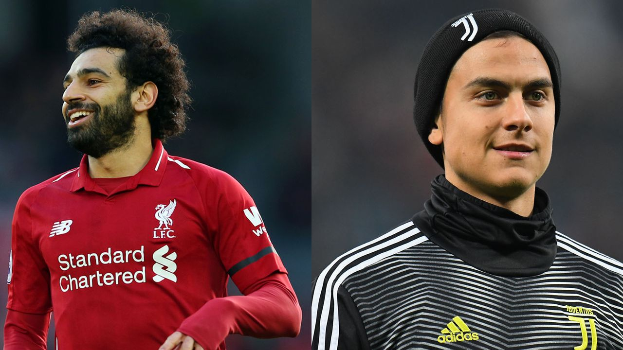 Mohamed Salah (FC Liverpool) und Paolo Dybala (Juventus Turin)  - Bildquelle: Getty
