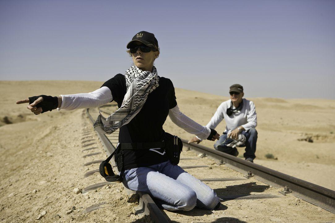Behind-the-Scenes: Regisseurin Kathryn Bigelow ... - Bildquelle: 2009 Concorde Filmverleih GmbH