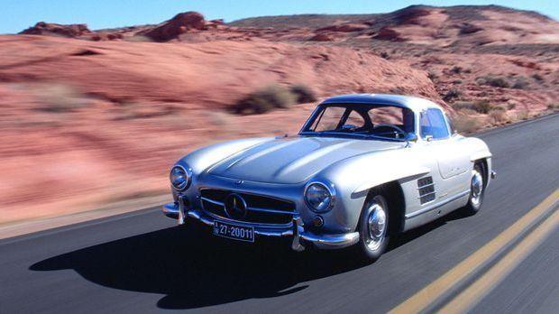 Oldtimer mit besonderem Kult-Faktor: Mercedes 300 SL