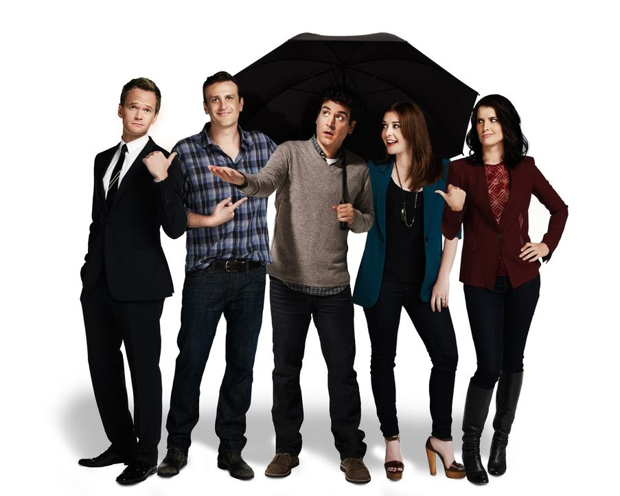 HIMYM - Staffel 9 - Promo Shoot7 - Bildquelle: 2013 CBS Broadcasting, Inc. All rights reserved.