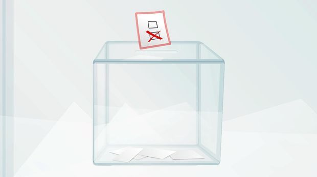 Wahlurne - Die Meilensteine des Wahlrechts