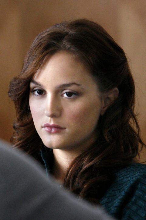 Blair (Leighton Meester) ist schrecklich enttäuscht: Ausgerechnet Serena wird das neue Model für die Modelinie ihrer Mutter ... - Bildquelle: Warner Brothers