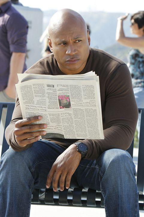 Sobald die nationale Sicherheit bedroht ist, beginnt Sam (LL Cool J) mit den Ermittlungen ... - Bildquelle: CBS Studios Inc. All Rights Reserved.