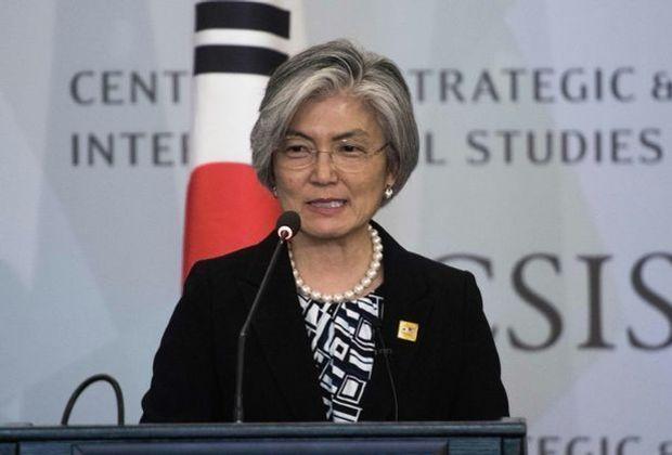 Südkoreas Außenministerin Kang Kyung-wha