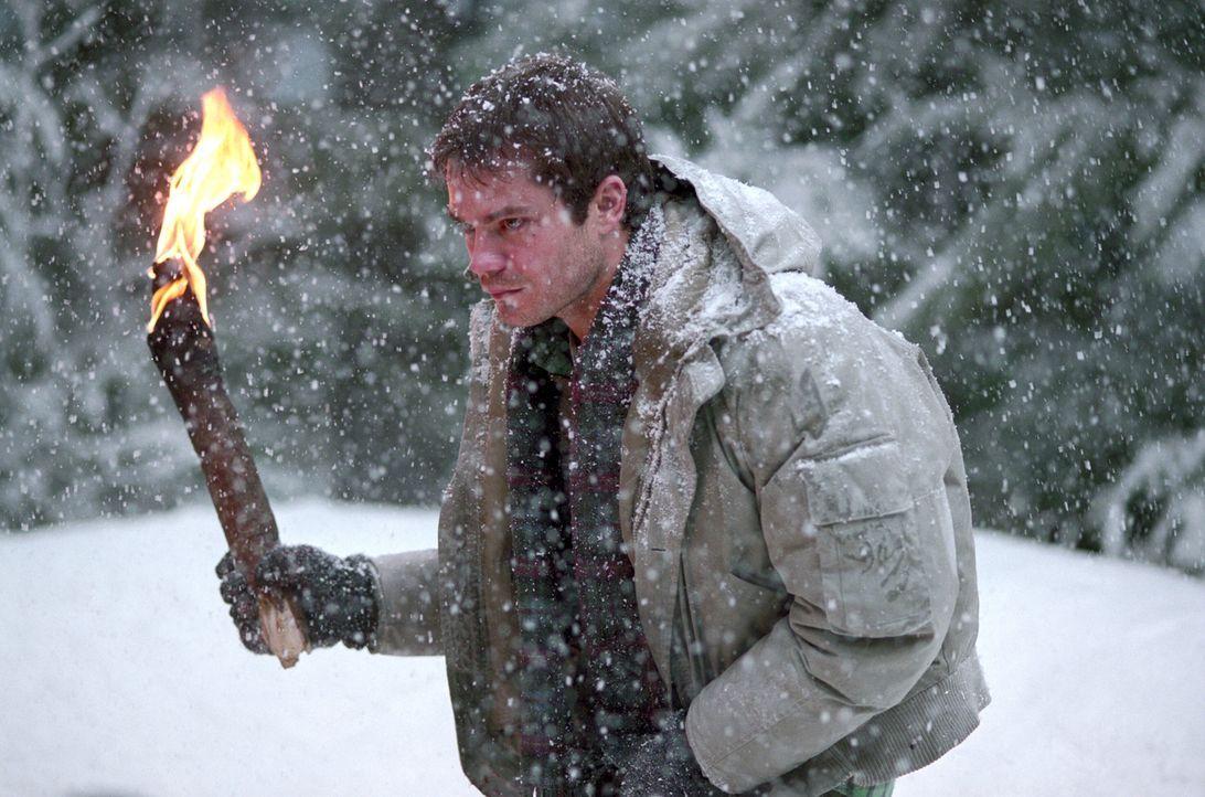 Zuerst müssen sich Pete (Timothy Olyphant) und seine Freunde mit einem verirrten Jäger herumschlagen, und dann bricht auch noch ein schwerer Schne... - Bildquelle: Warner Bros.