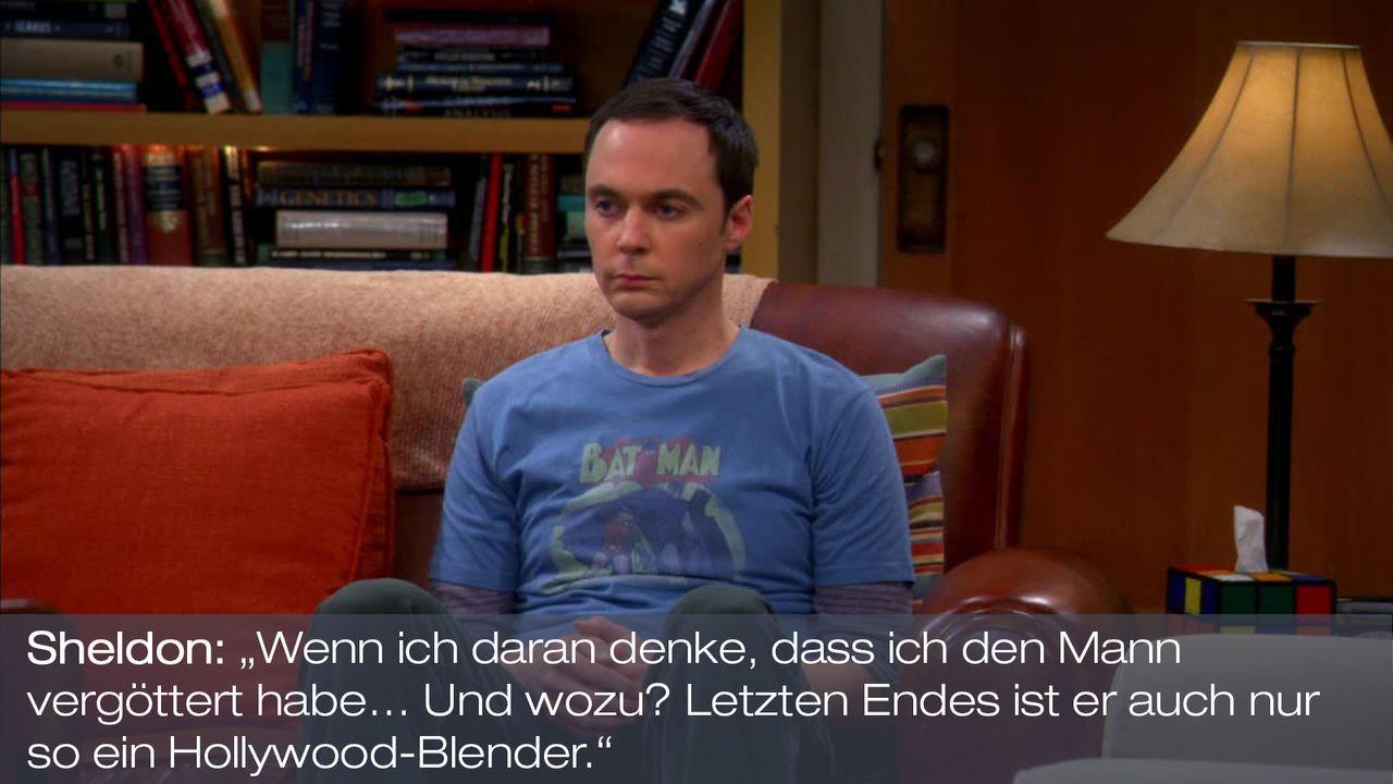 Staffel 7 Folge 7 - Zitat 6 - Bildquelle: Warner Bros. Television