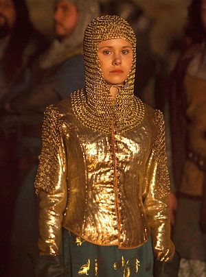 Die Säulen der Erde: Alison Pill als Königin Mathilde (Bildergalerie) - Bildquelle: Egon Endrenyi - Tandem Productions - Pillars Productions