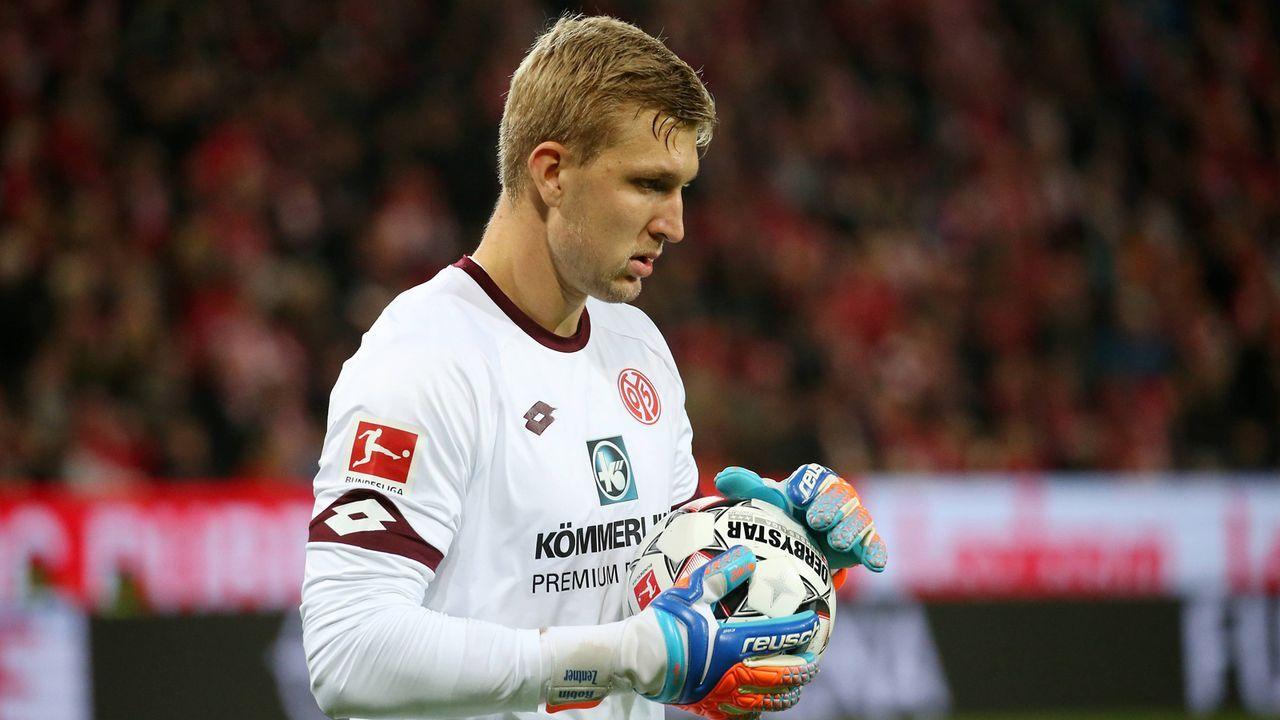 Robin Zentner (1. FSV Mainz 05) - Bildquelle: imago/Thomas Frey
