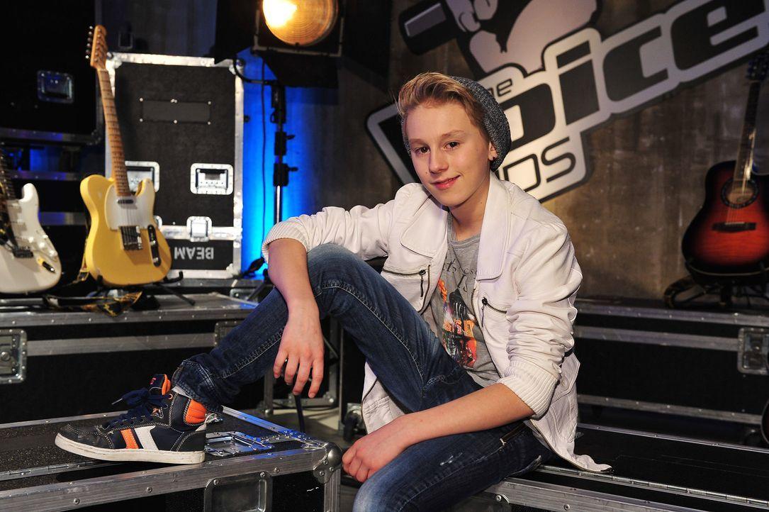 The-Voice-Kids-Stf02-Epi07-Leif-1-SAT1-Andre-Kowalski - Bildquelle: SAT.1/Andre Kowalski