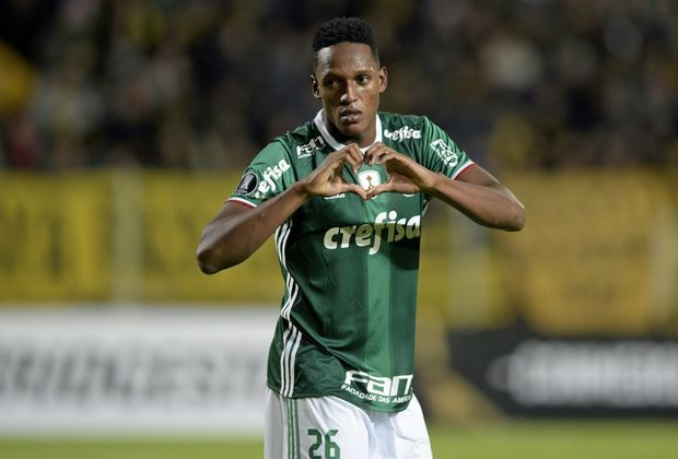 Yerry Mina wechselt 2018 zum FC Barcelona