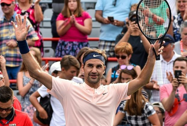 Federer baut seine Siegesserie auf 15 aus