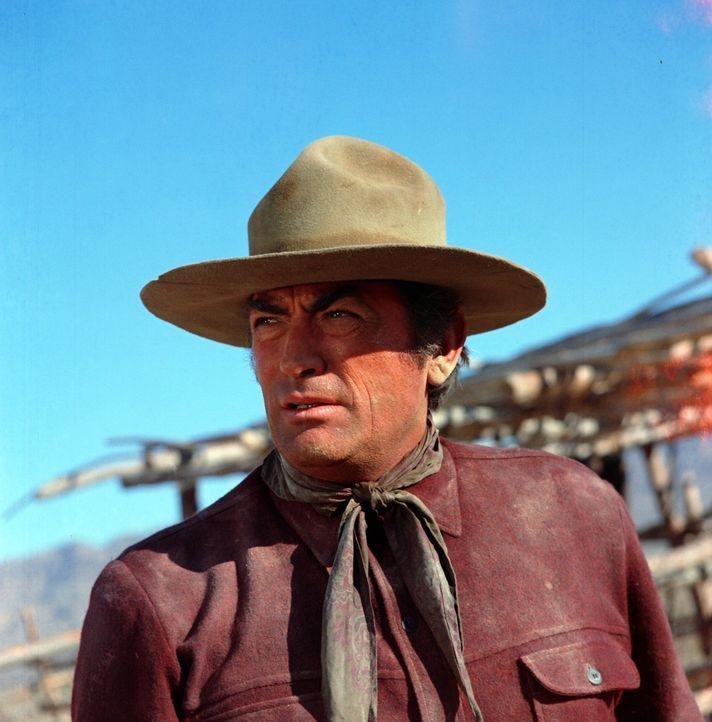 """Sam Varner (Gregory Peck) ist als der """"große Schweiger"""" bekannt."""